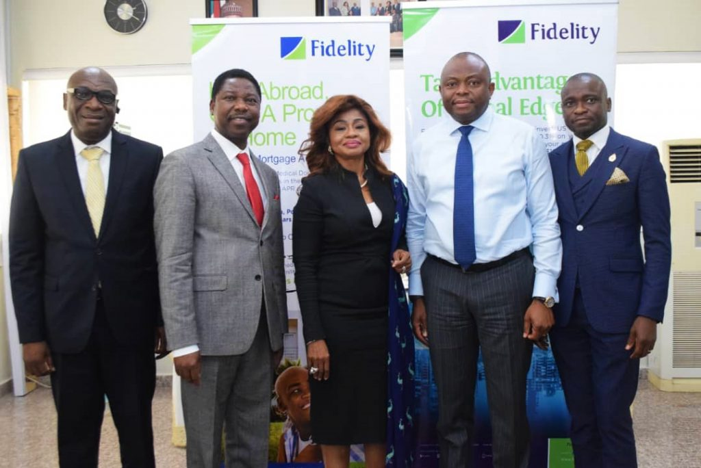 FOUR SEASONS sign with fidelity bank